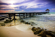 Carmen Prints - Pier Print by Chris Multop