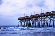 Captive Images Photography Posters - Pier into the sea Poster by John Kiss