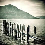 Rain Photos - Pier by Joana Kruse