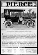 Pierce-arrow Photo Prints - Pierce-arrow Auto Ad, 1905 Print by Granger