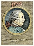 Theory Prints - Pierre-simon Laplace, French Astronomer Print by Detlev Van Ravenswaay