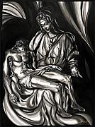 Son Paintings - Pieta by Keith  Thurman