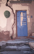 France Doors Painting Prints - Pieto One Print by Lindsey Hopkins