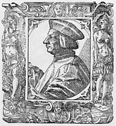 1400s Prints - Pietro Pomponazzi, Italian Philosopher Print by Middle Temple Library
