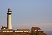 Lighthouses Originals - Pigeon Point Lighthouse on Californias Pacific Coast by Christine Till