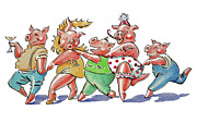 Debbie  Diamond - Piggy Conga