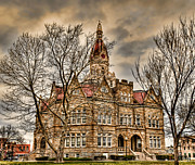 Government Originals - Pike County Courthouse by Donna Caplinger