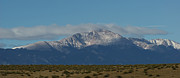 Front Range Art - Pikes Peak Panoramic by Ernie Echols