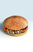 Digitally Generated Image Digital Art - Pill Burger by MedicalRF.com