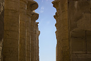 Scenic - Urban - Pillars at Karnak by Darcy Michaelchuk