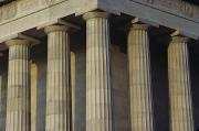 Lincoln Photos - Pillars Of The Lincoln Memorial by Kenneth Garrett