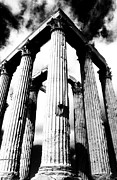 Olympian Framed Prints - Pillars of  Zeus  Framed Print by Andonis Katanos