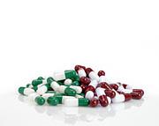 Pills Print by Maria Toutoudaki