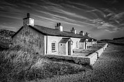 Stone Chimney Prints - Pilot Cottages Print by Adrian Evans