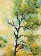 Marion Rose Art - Pine Abstract by Marion Rose