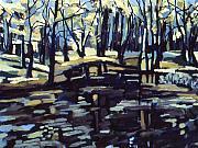 Pine Barrens Print by Doris  Lane Grey
