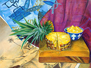 Sliced Originals - Pineapple King of Fruit by Johnny Butler