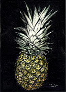 Pineapple Print by Robert Goudreau