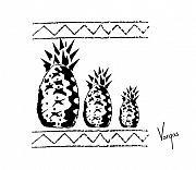 The Art World Of Vargas - Pineapple