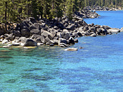Frank Wilson - Pines Boulders And Crystal Waters Of Lake Tahoe