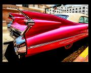 Pink Cadillac Prints - Pink Beauty Print by Artie Rawls