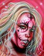 Fantasy Originals - Pink Beauty by Tim  Scoggins