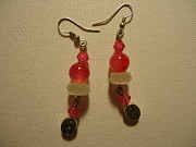 Alaska Jewelry Originals - Pink Believer Earrings by Jenna Green