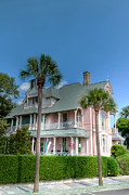 Battery Prints - Pink Charlestonian Home Print by Drew Castelhano