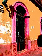 Image Gypsies Photos - Pink Door 1 by Darian Day by Olden Mexico