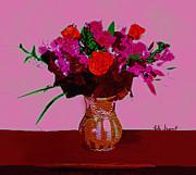 Kate Farrant - Pink floral display