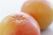 Grapefruit Photo Prints - Pink Grapefruits Print by David Munns