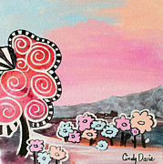 Cindy Davis Art - Pink Lemonade by Cindy Davis