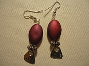 Dangle Earrings Jewelry Originals - Pink Love Earrings by Jenna Green