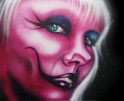 Makeup Painting Originals - Pink by Matt Truiano