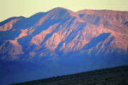 Harsh Prints - Pink Mountain light in Death Valley Print by Pierre Leclerc