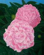 Michael Wicksted - Pink Peonies