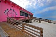 Fairhope Prints - Pink Pony Print by Michael Thomas