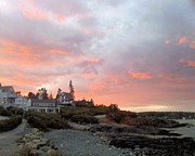 Marginal Way Prints - Pink Sky Print by Patricia Urato