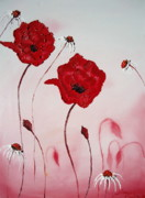 James Dunbar - Pink Sky Red Poppies 10