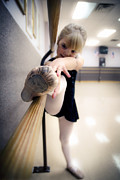 Child Ballerina. Photos - Pink Slipper by Jane Brack