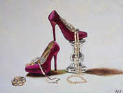 High Fashion Originals - Pink Stilettos by Anna Sundrud Trang