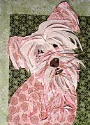 Puppy Mixed Media Originals - Pinky-poo by Karen Glenville