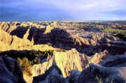 Oglala Prints - Pinnacles Sunset Print by Chris  Brewington Photography LLC