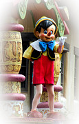 Disneyland Photos - Pinnochio  by Trish Tritz