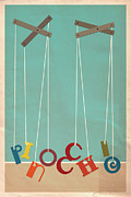 Hunter Langston Prints - Pinocchio Print by Megan Romo