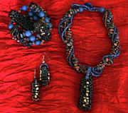 Exotic Jewelry - Pinococo 11-217 by Lyn Deutsch