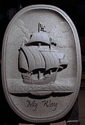 Ship Sculptures - Pinta by Jerry Williams