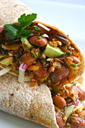 Tortillas Photos - Pinto Bean Wraps by Pat Crocker