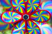 Toy Photos - Pinwheel by Michal Boubin