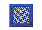 England Tapestries - Textiles - Pinwheel Mini by Deborah King